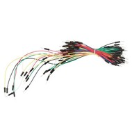 Velleman Set jumper wires - one pin MALE to MALE (65 pcs)