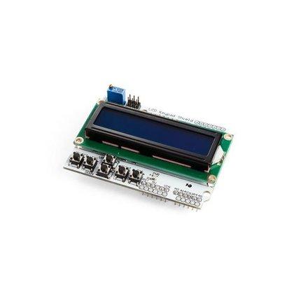 LCD & KEYPAD shield voor ARDUINO®