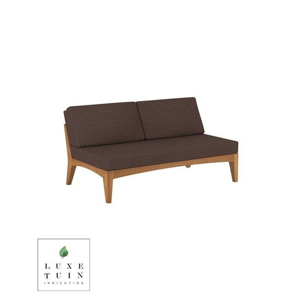Lounge No Arm 2-Seat Module