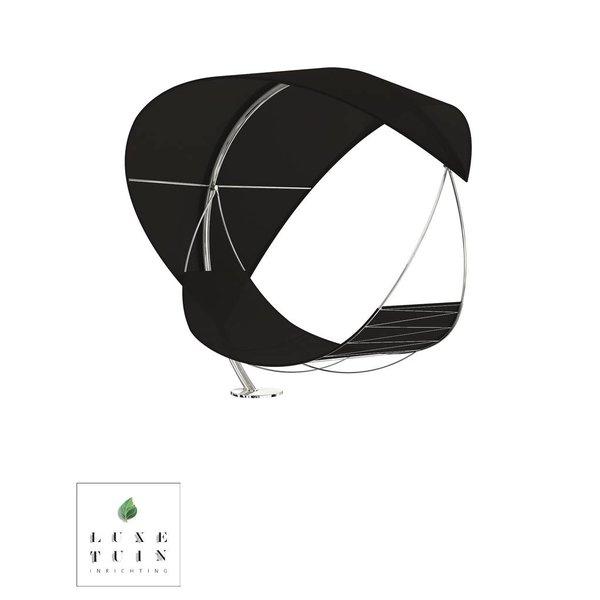 WAVE lounge ligbed-Hangmat Zwart