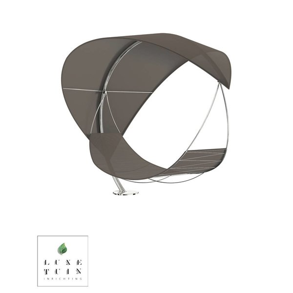 WAVE lounge ligbed-Hangmat Cappuccino