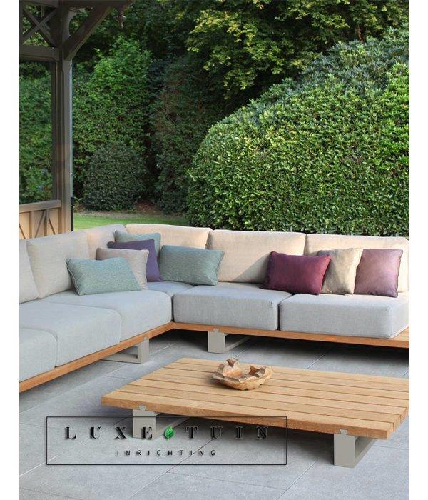 Design loungeset voor uw terras royal botania vigor lounge set 05 luxe tuin inrichting - Terras teak zwembad ...