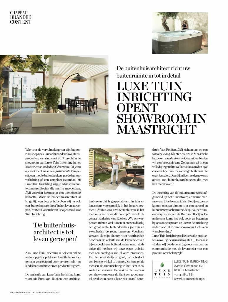 'De buitenhuisarchitect is tot leven geroepen'