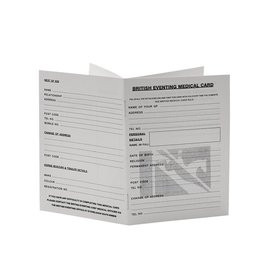 JVH Medical card