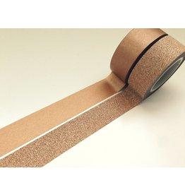Vivi Gade Washi Masking Tape Set Glitzer Kupfer Gold