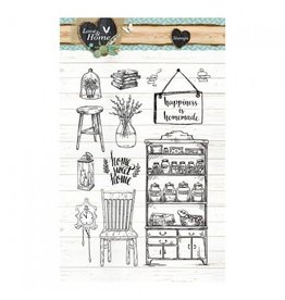 Studiolight Clear Stamps Sets   Love & Home 125