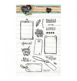 Studiolight Clear Stamps Sets   Love & Home 126