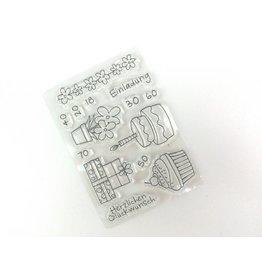 Clear Stamp Set   Einladung  14 tlg.
