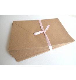 10x Kraftpapierumschläge C6 16,2 x 11,5cm