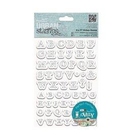 Stempelset Stitched Alphabets