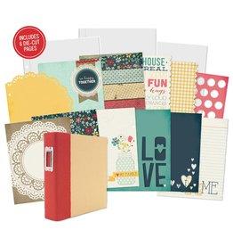 Simple Stories 12 SN@P! Recipe Divider Pages  Homespun