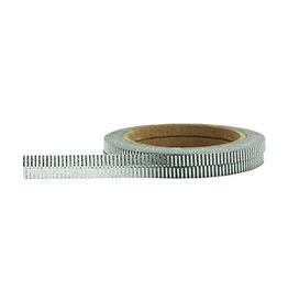 Little B Silver Foil Grosgrain 3mm Washi Tape Little B