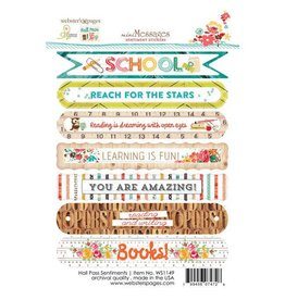 Websters  Pages Hall Pass  - Sentiments   Sticker