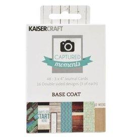 Kaisercraft Kaisercraft  Base Coat Journaling Cards 3x4