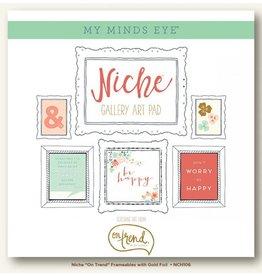 My Mind`s Eye MME - Niche - Gallery Art Pad 12x12