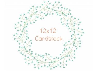 12x12 Cardstock
