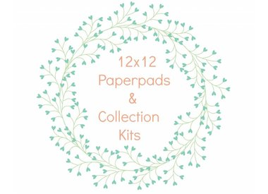 12x12 Paper Pads + Collection Kits