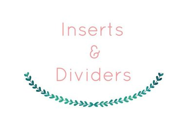 Inserts & Dividers