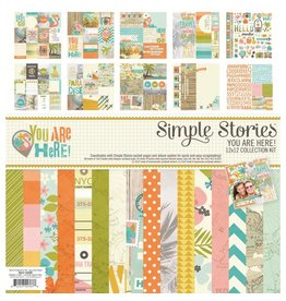 Simple Stories You Are Here! Collection Kit 12x12 Simple Stories