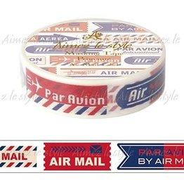 Aimez le style Aimez le style Washi Tape Air Mail Label