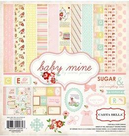 Carta Bella Carta Bella Baby Mine Girl 12x12 Inch Kit