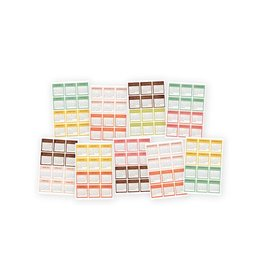 Simple Stories The Rest Girl Mini Monthly Calendar Stickers