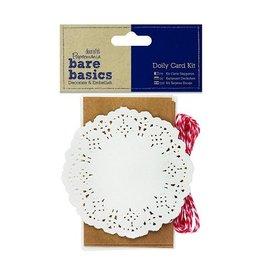 Papermania Kraft Doily Card Kit