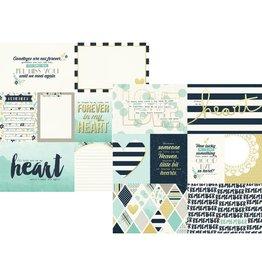 Simple Stories Heart Elements #1 Paper 12x12 von Simple Stories
