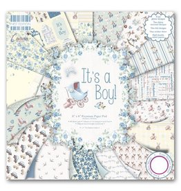 """First Edition 8""""x8"""" Paper Pad - It's a Boy"""