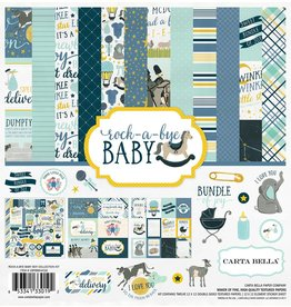 Carta Bella Carta Bella Rock-a-Bye Boy 12x12 Collection Kit