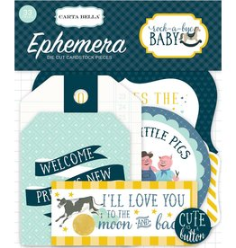 Carta Bella Rock-a-Bye Boy Ephemera von Carta Bella