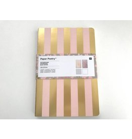Paper Poetry 2 Notizbücher A5 Bouquet Sauvage