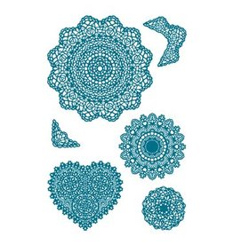 Paper Poetry Silikonstempel Set Doilies