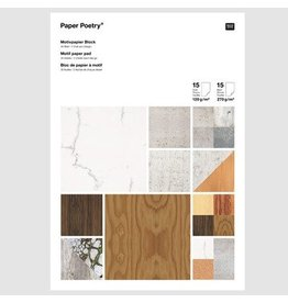 Paper Poetry A4 Paper Pad Architektur