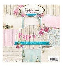 Studiolight Romantic Summer Paper Pad  6x6 Inch 36 Blatt