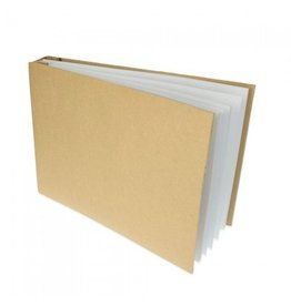 Kraftpapier Fotoalbum A4