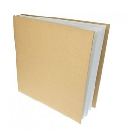Kraftpapier Fotoalbum 31 x 31 x 5 cm