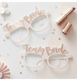 8x Team Bride Party Brillen