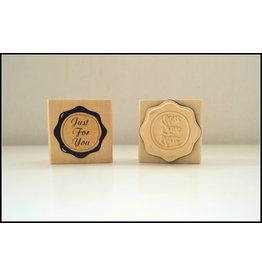 """Holzstempel """"Just For You"""""""