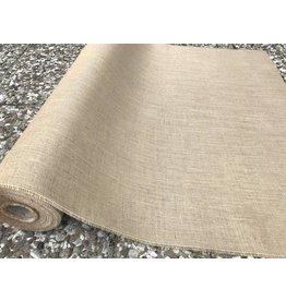 1m  Jutestoff 100cm breit dicht gewebt