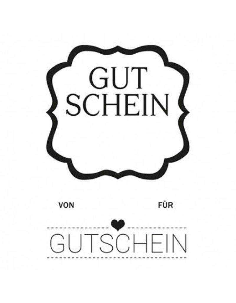 Clear Stamp Set  Gutschein 2 tlg.