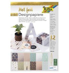 A4 Paper Pad Hot Foil von Folia