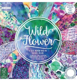 Wild Flower 12x12 Paper Pad First Edition