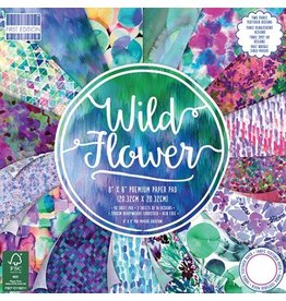 Wild Flower 8x8 Paper Pad First Edition