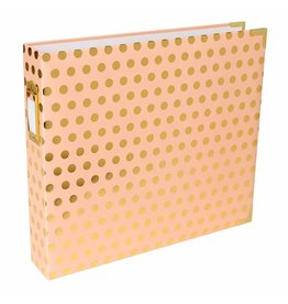 American Crafts Project Life - Album 12x12  Blush Gold Dot