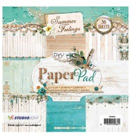 Studiolight Summer Feelings  Paper Pad  6x6 Inch 36 Blatt