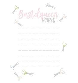 Notizblock Bastelqueen DIN A6