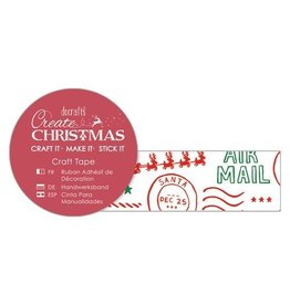 Papermania Washitape Airmail Christmas 15mm x 5m