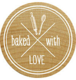 Woodies Woodies Holzstempel   baked with Love