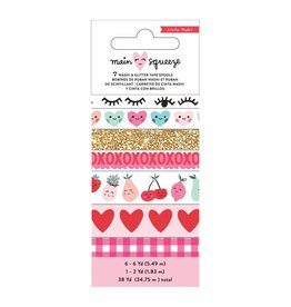 Crate paper Main squeeze washi tape x7